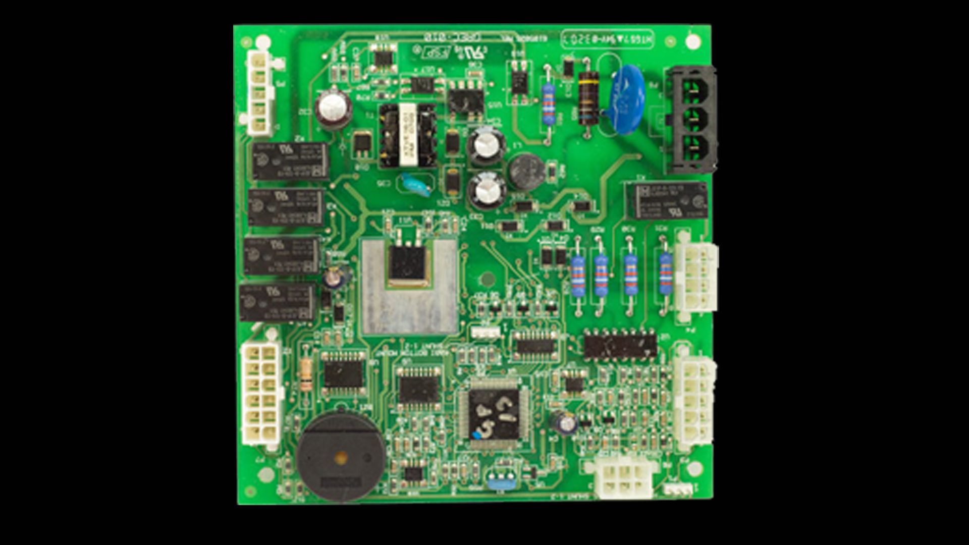 W10219462 Failed Microprocessor Replacement Circuit Board on